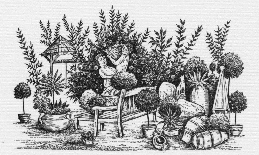 Baumschulen Hülsbusch - Skizze 3